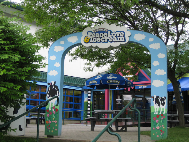 Entrance to Ben & Jerry's factory in Waterbury, Vermont