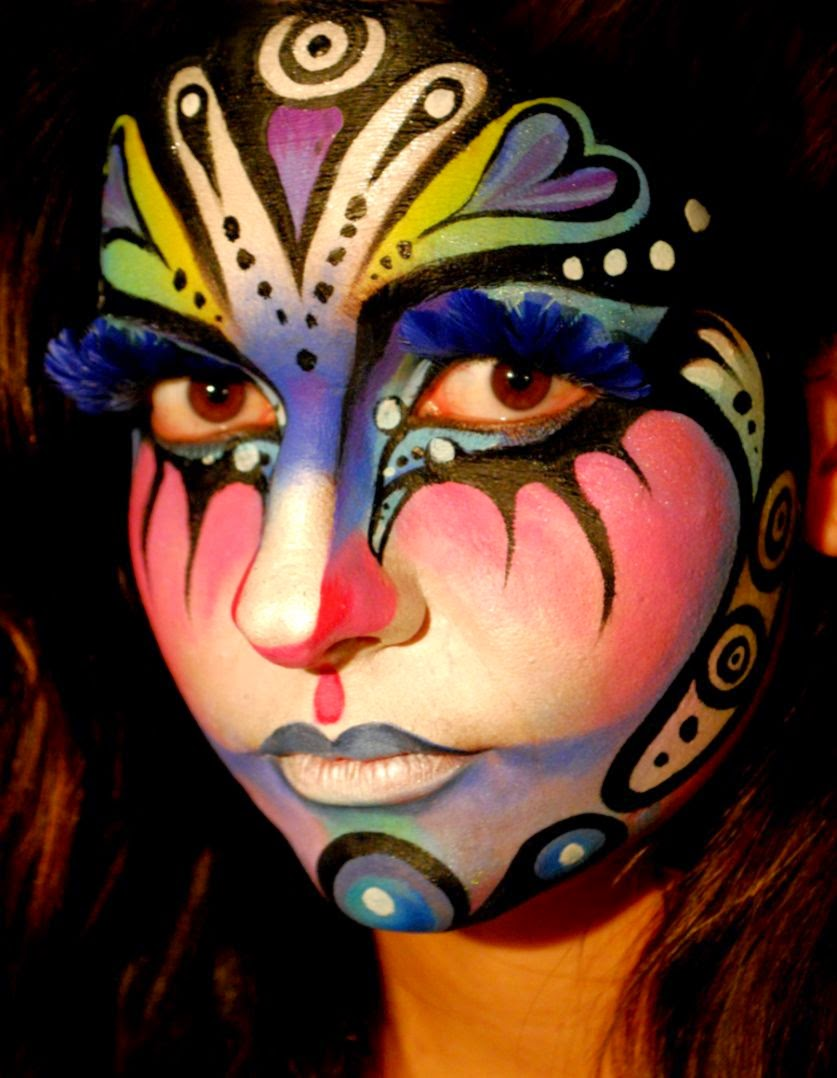 Body art Face by NatashaKudashkina on DeviantArt