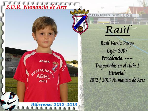 ADR Numancia de Ares. Raúl.