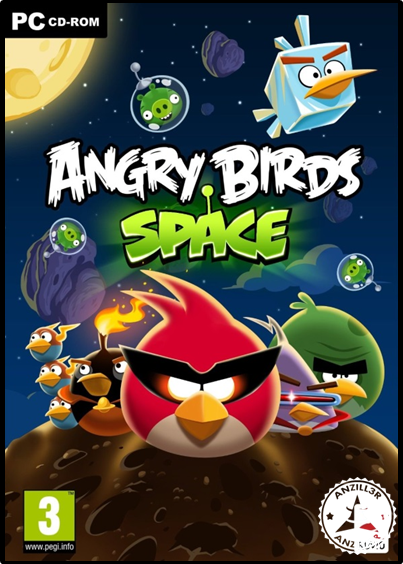 Angry Birds Space cover pc