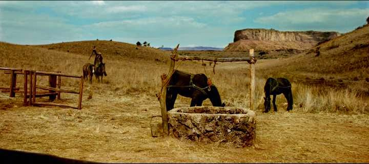 Screen Shot Of Hollywood Movie The Salvation (2014) Download And Watch Online Free at Alldownloads4u.Com