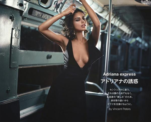 ადრიანა ლიმა ჟურნალ ,,Numero Tokio'' ს ნომერში