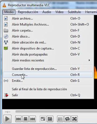 VLC - Convertir