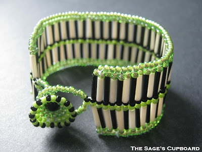 Green Stripes Cuff
