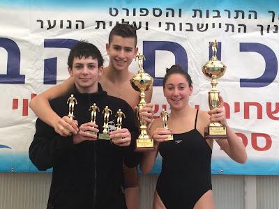 תחרות שחיה המנהל לחינוך התיישבותי 2014