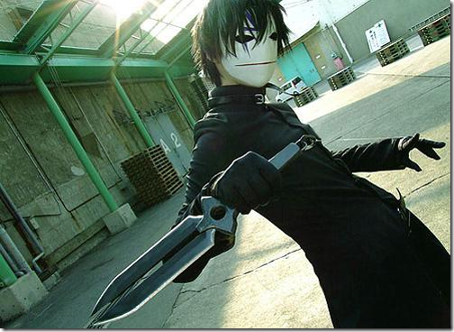 darker than black: kuro no keiyakusha cosplay - hei 2