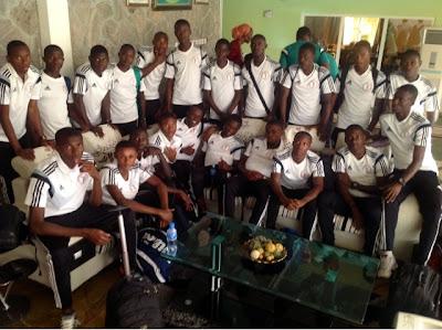 Nigeria football news,Golden Eaglets Arrive Kaduna To Tackle Sokoto United On Saturday