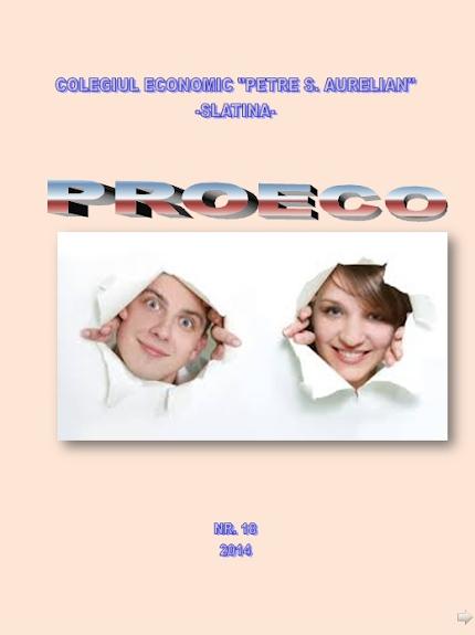 ed5 (ELECTRONIC - revistă scolara) proeco_Colegiul Economic_PETRE S. AURELIAN_SLATINA_OLT
