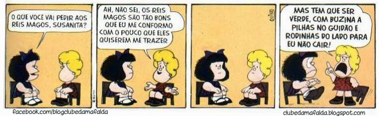 Clube da Mafalda: Tirinha 606
