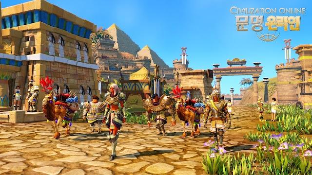 Cận cảnh gameplay của Civilization Online 18
