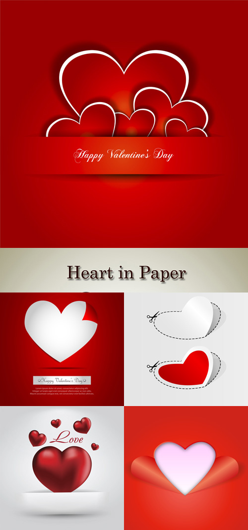 Stock: Heart in Paper