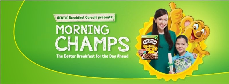 Nestle' Breakfast Cereal presents: Morning Champs