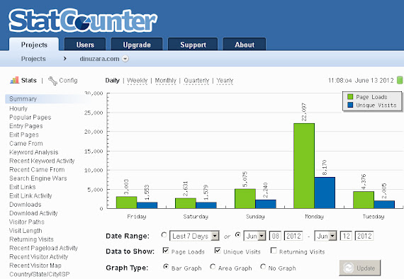 dinuzara.com, cel mai vizitat site din Suceava