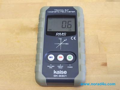מד קרינה תדר נמוך KAISE SK8301