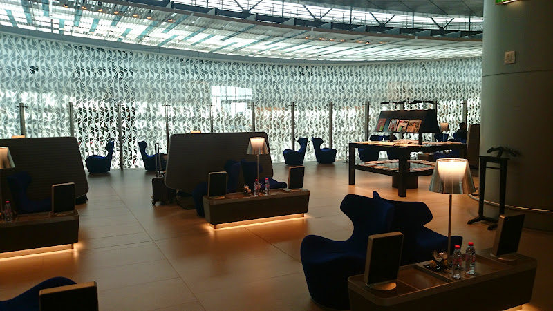 DSC 4995 - REVIEW - Qatar Al Mourjan Business Class Lounge, Doha (September 2014)