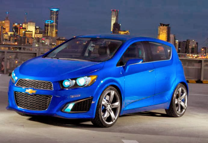2015 Chevrolet Sonic RS Sedan Release Date