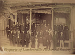 Members of the Lambertville Historical Society - circa 1890!