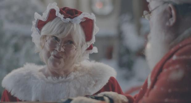 Naughty Mrs. Claus has A Special Treat For Santa In New Samsung Commercial