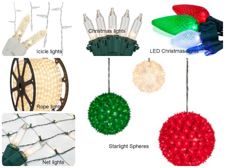 Six Fascinating Kinds of Christmas Lights