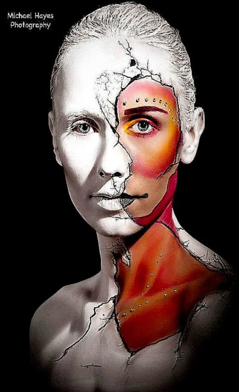 MAKE UP ART  bodypaint  I Love Body Art