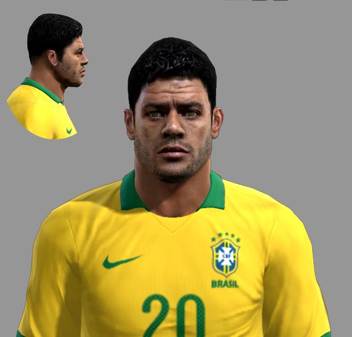 Hulk Face - PES 2013