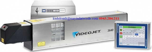 Máy in date Videojet laser 3640