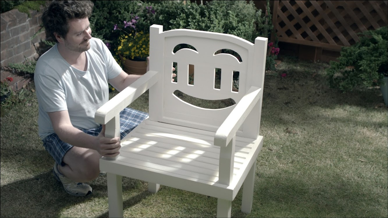 Garden Chair Throws Tantrum In Latest Ad For Cuprinol's Cheer It Up Campaign