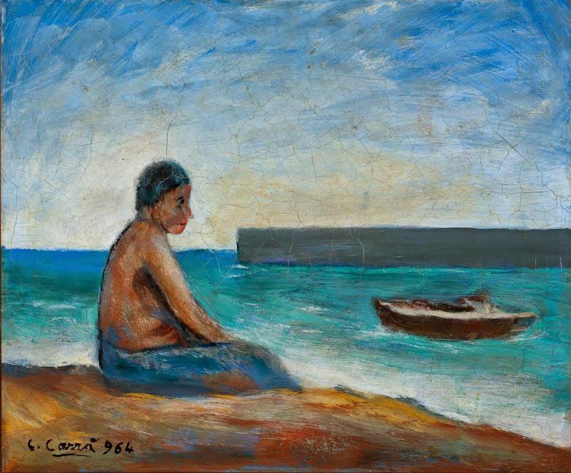 Carlo Carra - Il pescatore