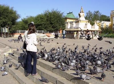 Буддийский монастырь Гандантекчинлинг, Улан-Батор, Монголия