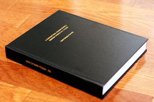Dissertation to book