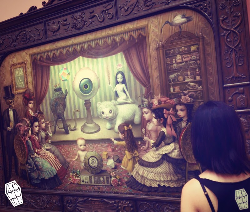 mark ryden gallery, creepy cute art, goth art, emo gothic, japanese goth, underground art