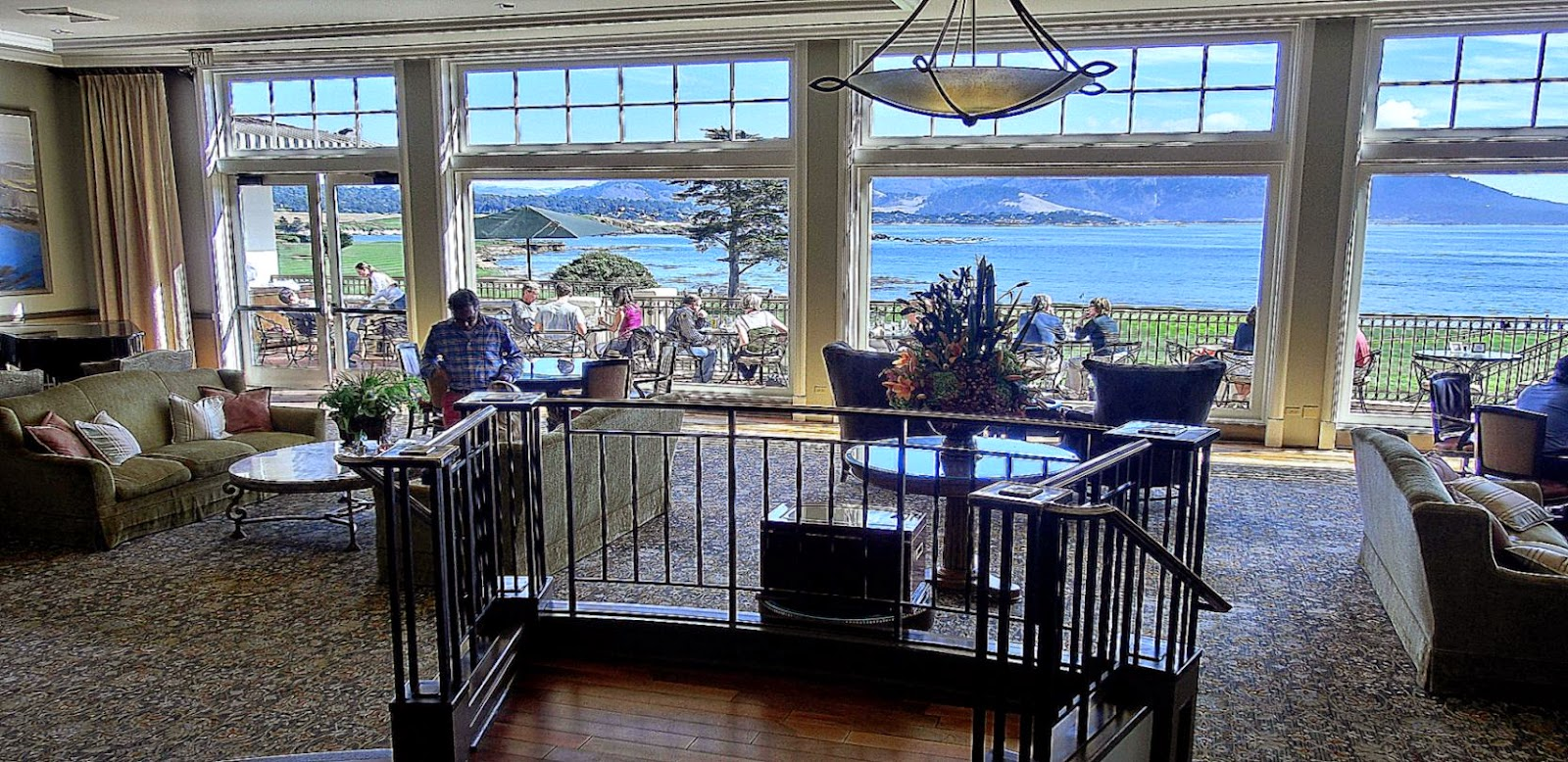 Lodge at Pebble Beach California USA   Free N Easy Travel