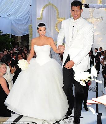 Kim kardashian tv wedding program