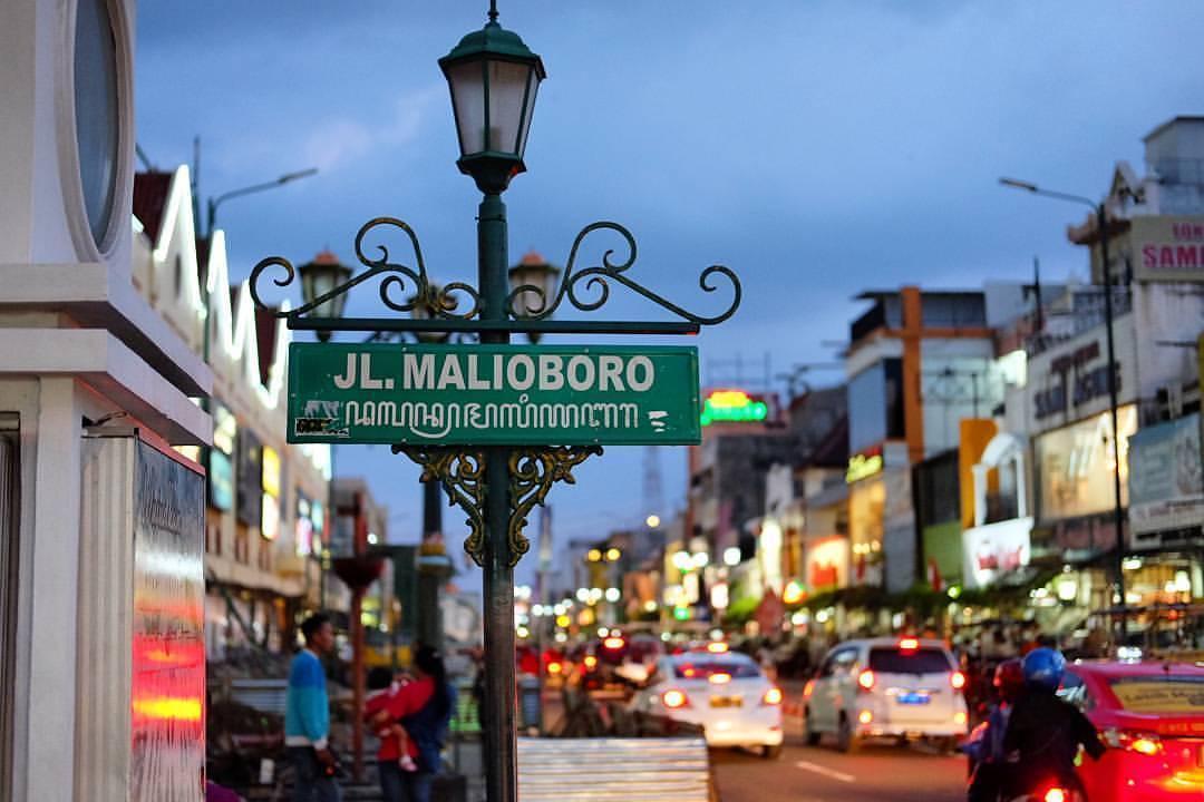 Suasana di Malioboro yang kaya akan visualisasi membuat daya pikat tersendiri di Jogjakarta