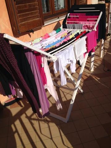 Profumo di casa gestire il bucato - Asciugare panni in casa ...