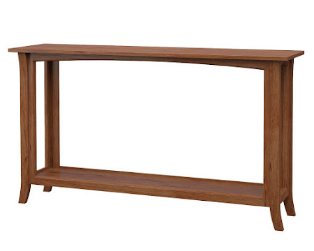 Dreamtime Sofa Table in Vermont Maple