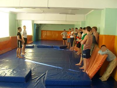 23-го февраля по всей России прошли акции здоровой молодёжи - Ижевск