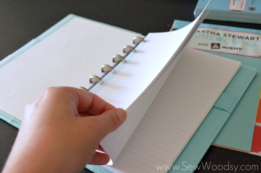 Discbound notebooks from Martha Stewart Home Office™ with Avery™