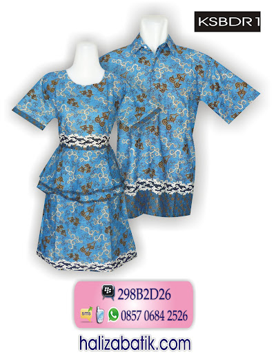 model baju batik sarimbit, model baju batik couple, model batik modern