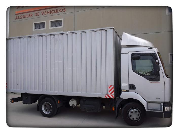 alquiler de camiones de mas de 3500 kg en Zaragoza, Huesca y Salou