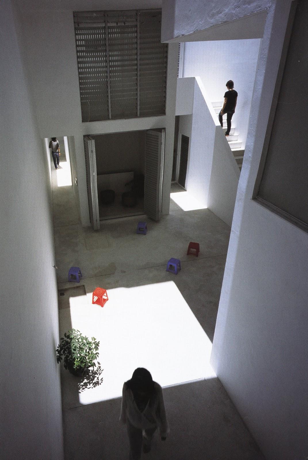 Architectural Grammar Space Block Hanoi By Kazuhiro Kojima