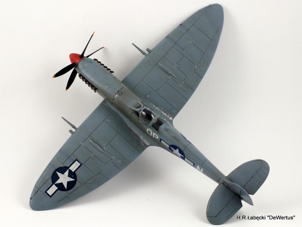Malta/Sicily 1943; Spitfire Mk.IXc 2FS/52FG; Italeri 1/48 DSCF3807
