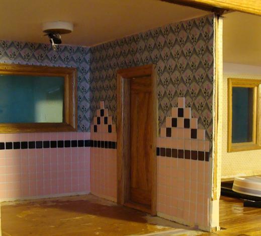 Yasha's Bonsai Blog: Dollhouse Bathroom A Rhapsody In Pink