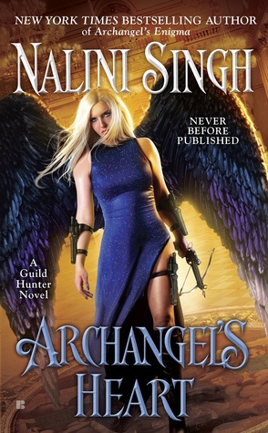 Where the Night Kind Roam: Early review: Archangel's Heart