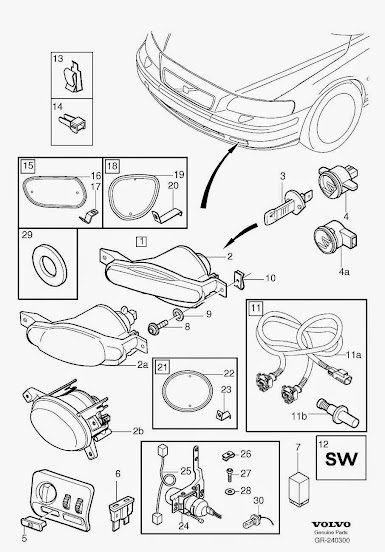 2005 V70 Fog Light Install Question | SwedeSpeed - Volvo Performance Forum | Volvo Fog Lights Wiring Diagram |  | SwedeSpeed