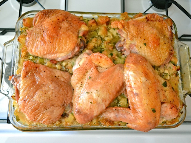 bake turkey stuffing