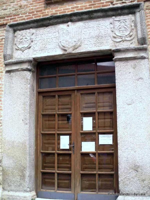 Puerta de La Chancillería, Olmedo