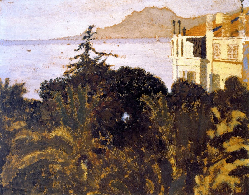 Édouard Vuillard - Cannes, Garden on the Mediterranean