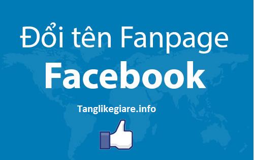 Đổi Tên Fanpage Không Giới Hạn