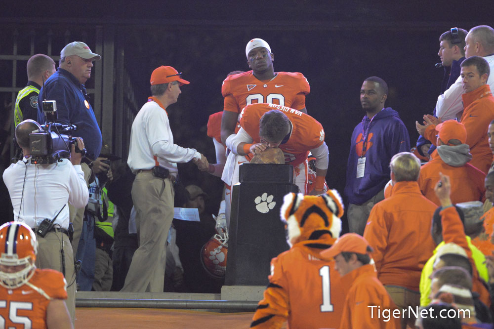 Clemson vs. South Carolina - Seniors on the Hill Photos - 2012, Football, Sam Van Gieson, Seniors, South Carolina